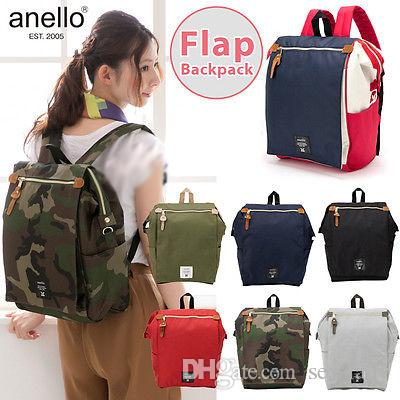 8acfa304d7 Anello Japan Flap Rucksack Tote Style Waterproof Backpack Backpacks Campus  Rucksack School Bag Wholesale Swiss Army Backpack Black Leather Backpack  From Sex ...
