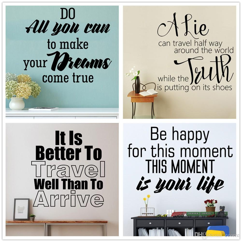 This Is Your Life Quote Famous Quotes Wall Sticker Life Inspirational Wall Decal Vinyl