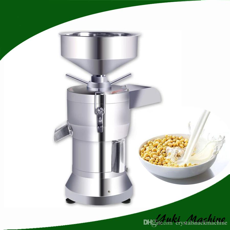 2018 Commercial Soya Milk Machine Stainless Steel Soy 220v Electric Slurry Separate Soymilk Tofu Maker From Crystalsnackmachine