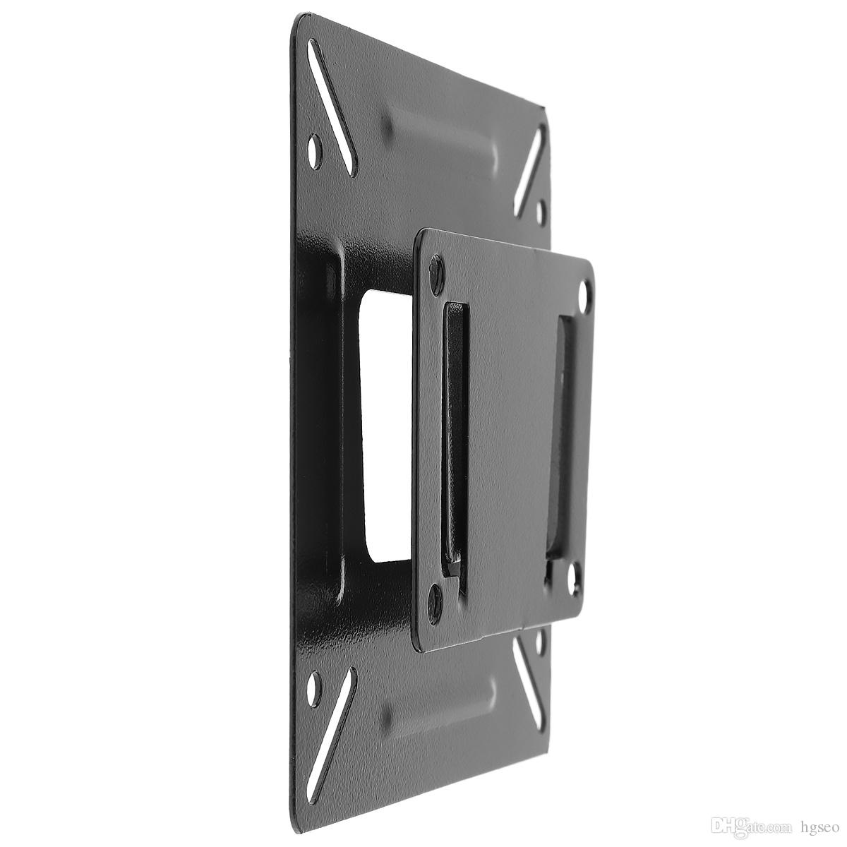 Flat Screen Tv Wall Mounts 2017 universal tv wall mount bracket for 14 ~ 24 inch lcd led