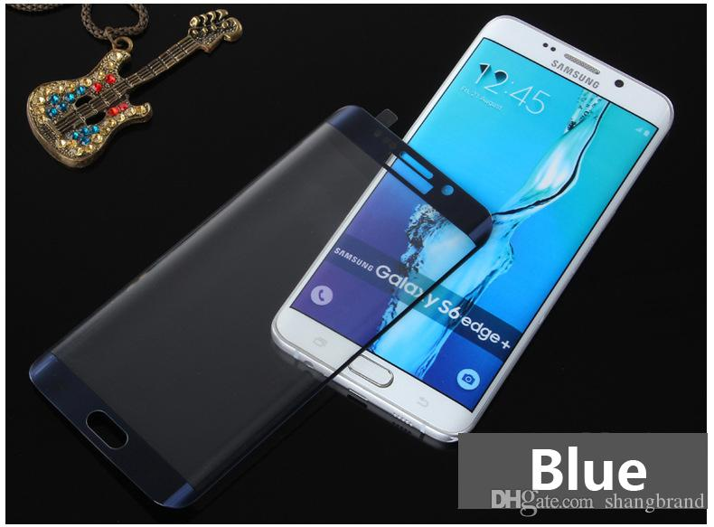 S6 Edge tempered glass film For samsung galaxy S6 Edge 3D curved full cover tempered glass phone screen protector film