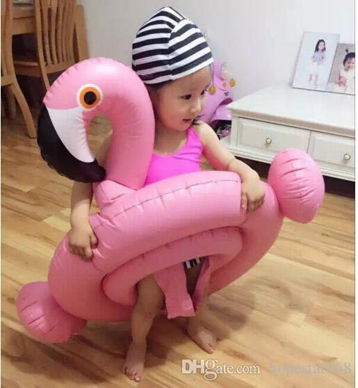 Inflatable Baby Swimming Ring Flamingos Swan Seat Boat Water Swim Ring Pool Swiming Float Swimming Pool Beach Toys