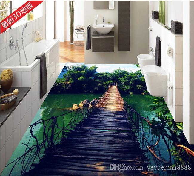 custom 3d stereoscopic living room wallpaper 3d floor tiles wooden rh dhgate com