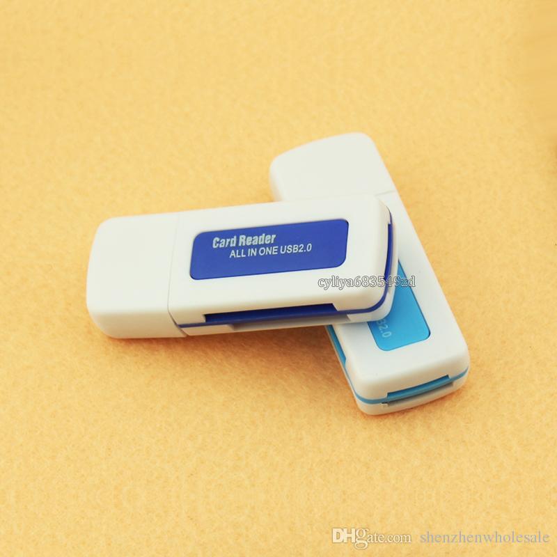 USB 2.0 4 en 1 Mémoire Lecteur Multi Card pour M2 SD SDHC DV Micro SD TF USB specifictaion version 2.0 480Mbps