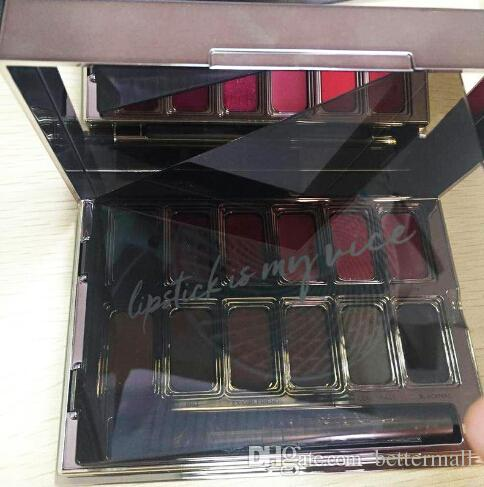 Newest Makeup Palette BLACKMAIL VICE Lipstick Palette In Box DHL free VICE Cosmetics