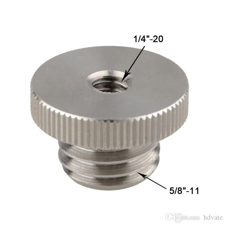 """CAMVATE 1/4""""-20 to 5/8""""-11 Threaded Screw Adapter For Tripod Laser Level Adapter BOSCH"""