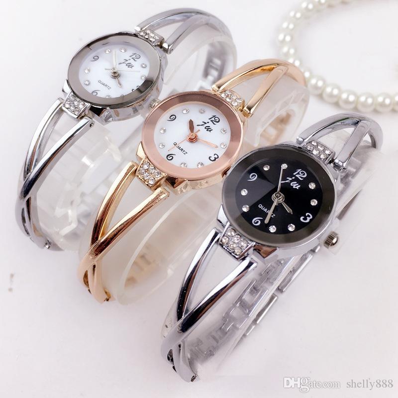 Dames Bracelet Girf Inoxydable En De Étudiant Électronique Ami Acier Espagnol Cadeau Montre Mode Étanche Style Montres Quartz jA4RL5
