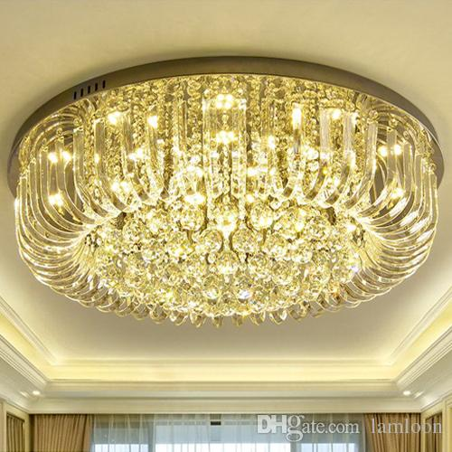 Dimmable LED Chandeliers Ceiling Installation Led Round European