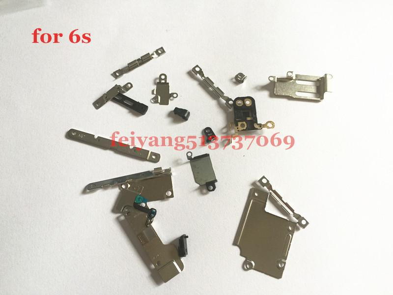 """22 in 1 Original New For iPhone 6S 4.7"""" 6s Plus Internal Replacement Fastening Brackets Inner Small Parts Set"""