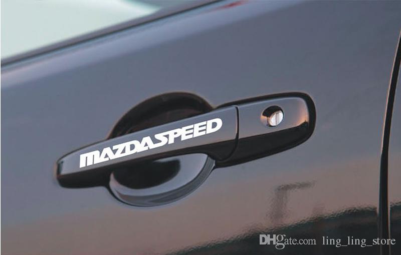 Car Stickers Car Door Handle Stickers Reflective Stickers Auto Supplies For MAZDA CX-5 CX5 CX 5 Sticker