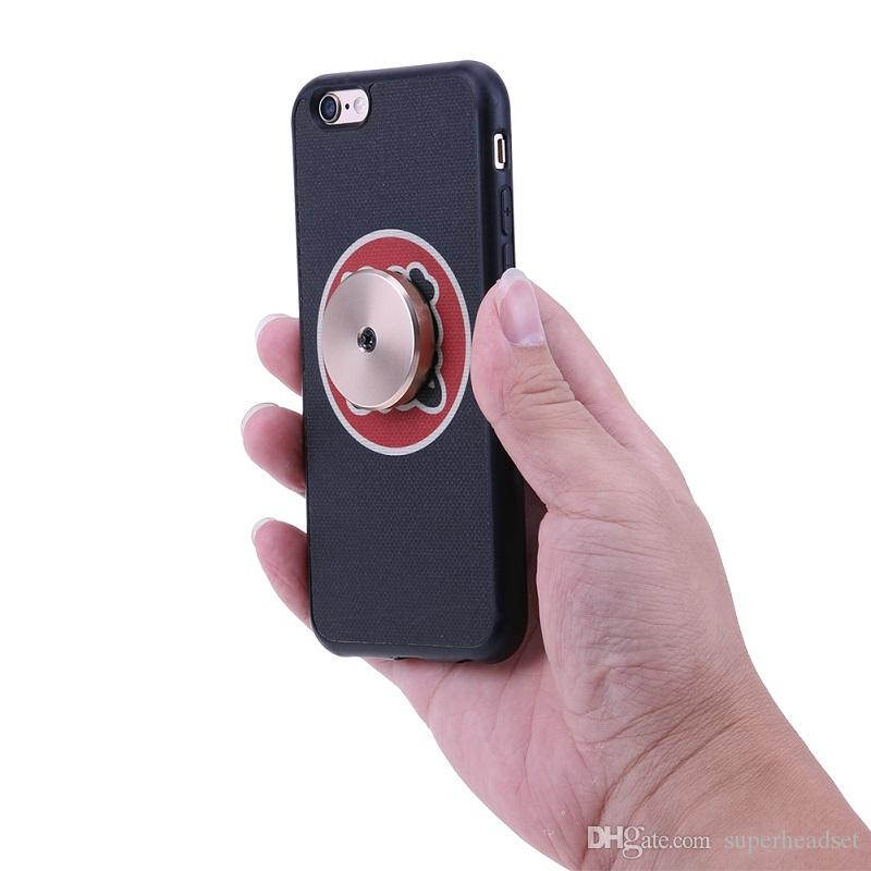 Para el montaje Iphone Xs Monte máximo del sostenedor del coche de alta calidad de metal plana palillo del coche soporte para teléfono móvil magnético para todas las teclas del teléfono móvil