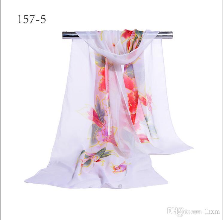 2017 Nuovo stile primavera e autunno donne sciarpa quadrata estate sezione sottile sciarpa scialle dimensioni 155 * 55 cm y51-y57