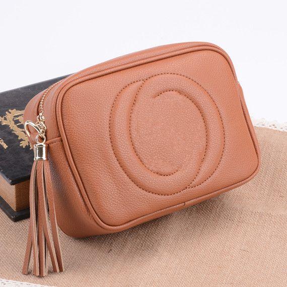 2018 Hot Women Leather Soho Bag Disco Shoulder Bag Purse