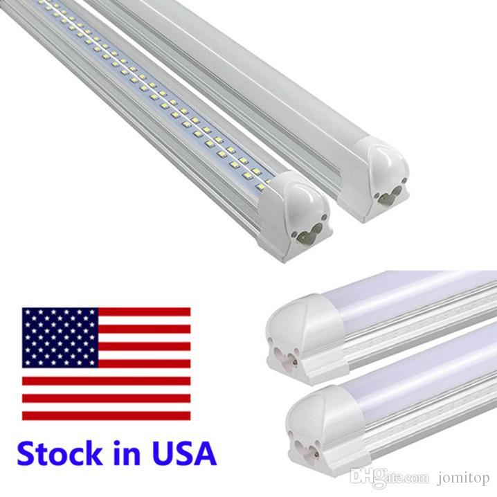 LED Tubes 8ft V Shaped Cooler Door T8 LED Tube Light Double Sides ...