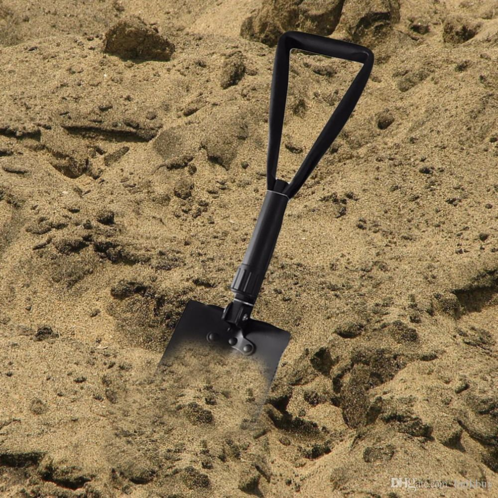 Multifunktions-Militärfaltenschaufel-Erforschung-Überlebens-Spaten-Notgarten-kampierendes Werkzeug im Freien mit Taschengroßhandel