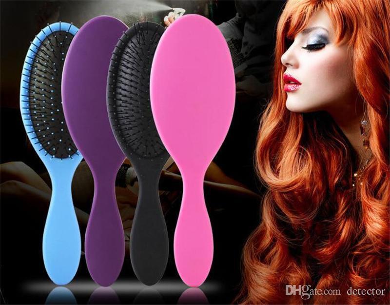 Hot Wet & Dry Hair Brush Original Detangler Hair Brush Massage Comb With Airbags Combs For Wet Hair Shower Brush free DHL