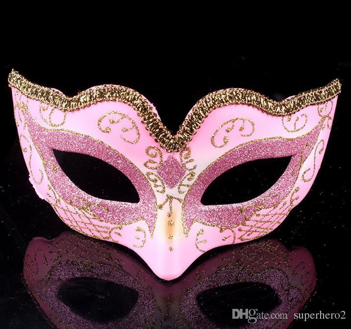 Mascarade Balle De Danse Masque De Mode Femmes Costume Fantaisie Robe De Bal Masque Pour Les Yeux Mardi Parti masques de mariage