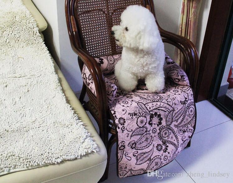 Multi-Function Soft Folding Pet Dog Cat Mat Anti-slip Backing Material Bench Seat Cover High-end Sofa Protector Dog Bed Pad