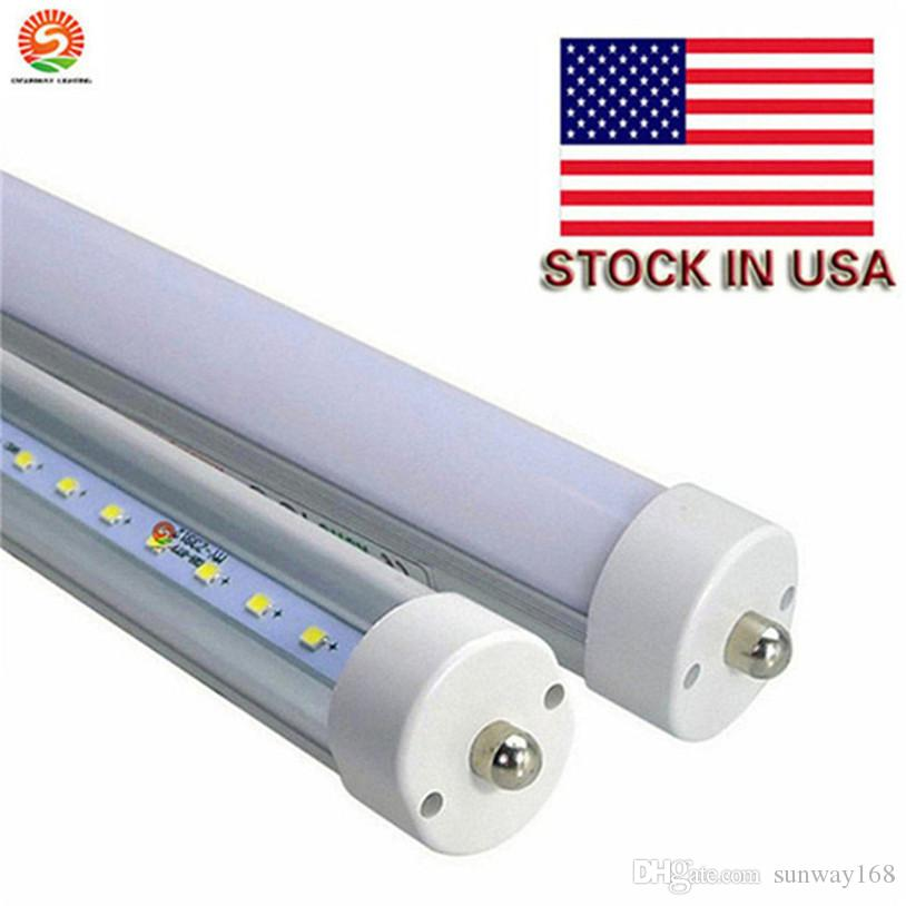 50 Pack 45w T8 96 8ft Led Tube,Led Fluorescent Replacement,Led ...