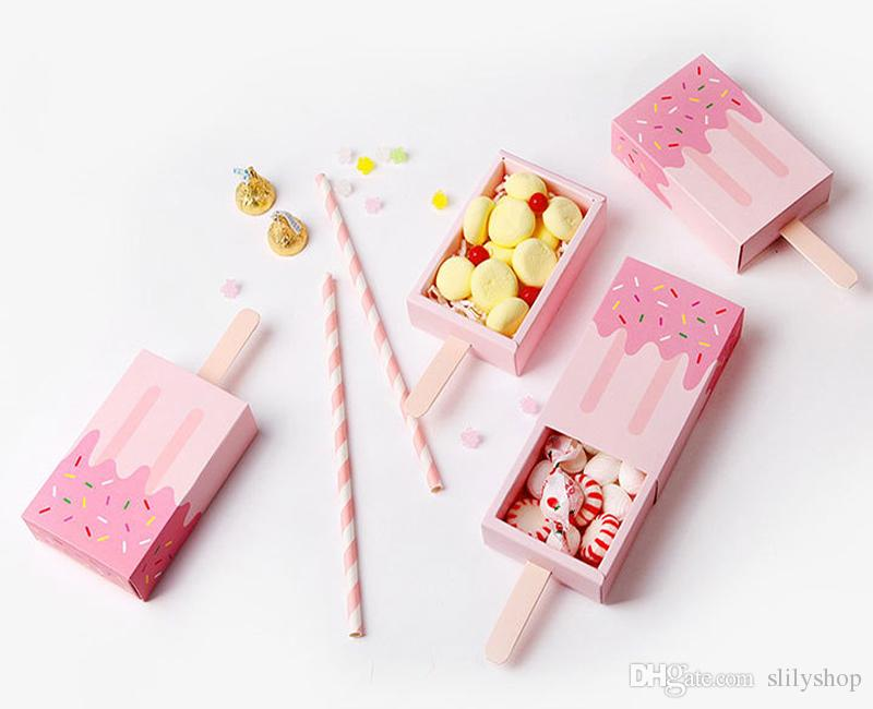 Wedding Party Candy Boxes Wedding Favors Bag Sweet Cake Gift Candy Wrap Paper Boxes Bags Anniversary Party Birthday Baby Shower