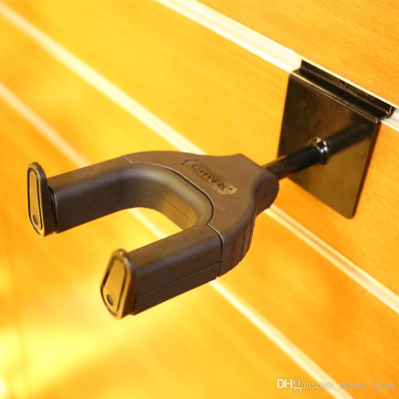 Muro de guitarra gancho Com Auto Safe Lock Best For Guitar Shop e Studio