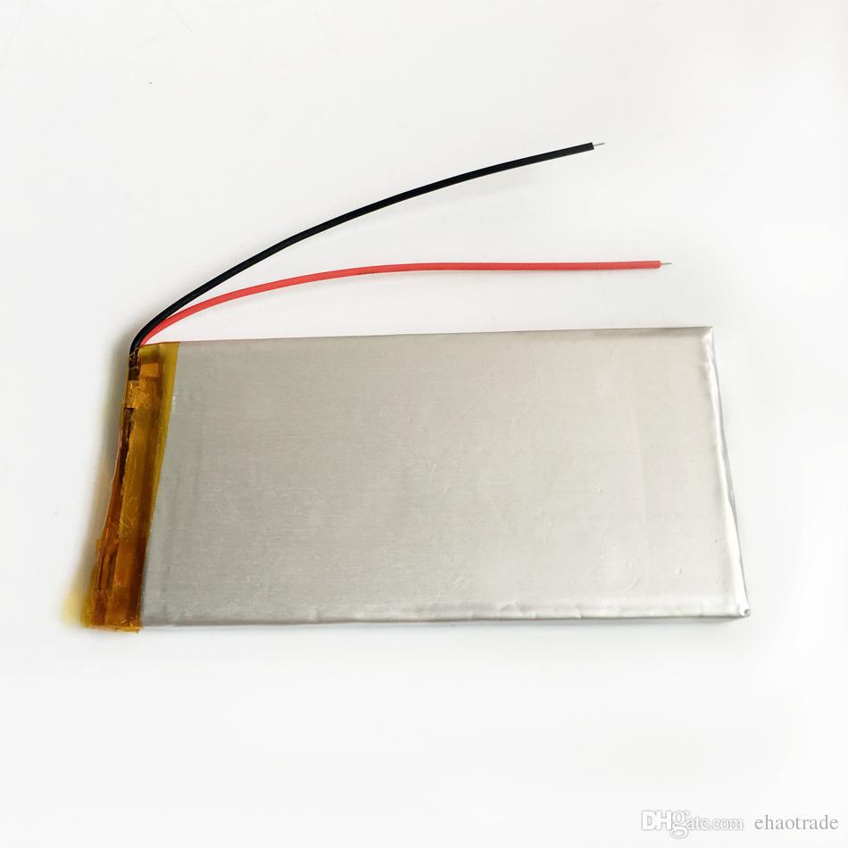 Модель 5050100 3.7 V 4000mAh литий-полимерный Li-Po аккумуляторная батарея для DVD PAD мобильный телефон GPS Power bank камеры электронные книги ноутбук TV box