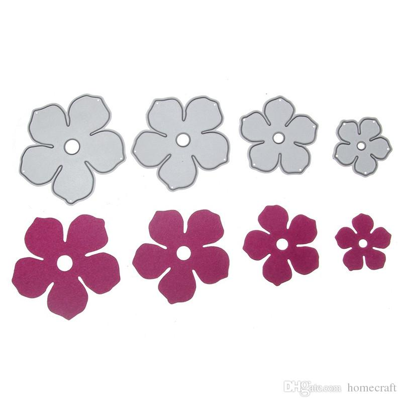 Pretty Flowers Metal Cutting Dies for DIY Scrapbooking Stencil Paper Cards Decorative Craft Template Tool