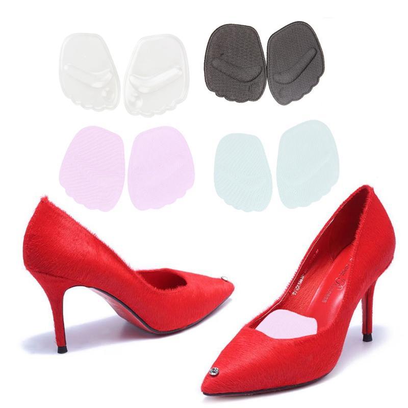Силиконовый Гель Toe Pads Обувь Передней Лапки Подушка Женщины Высокий Каблук Стельки Уход За Ногами
