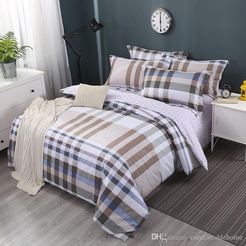 Bedding Striped Bed Sheets Home Textiles Individuality Fashion