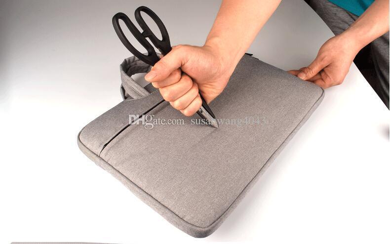 Saco de forro À Prova de Choque à prova d 'água notebook Maleta para Macbook ipad air pro 11.6 13.3 14 15.6 polegada laptop saco tablet protetora casos DN006
