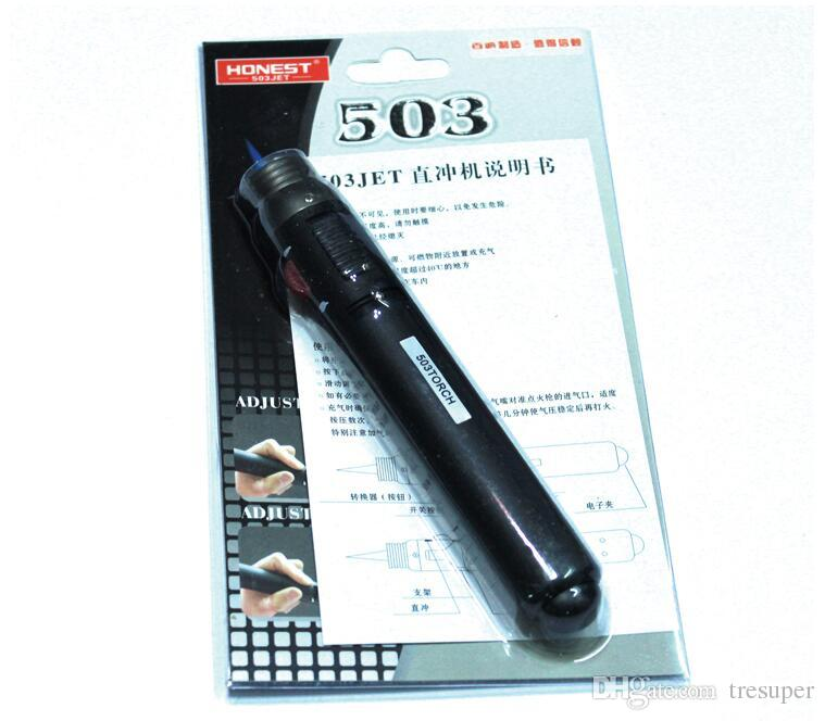 503TORCH في الهواء الطلق ولاعة الشعلة جت لهب قلم رصاص غاز البوتان غاز إعادة الملء لحام لحام القلم