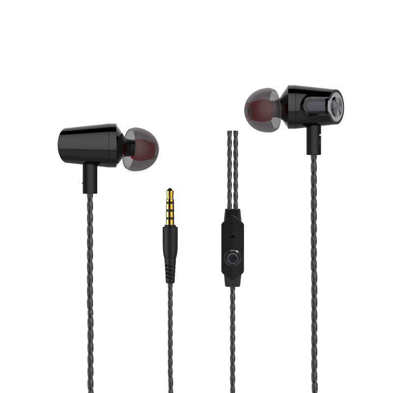 NEW! Langsdom R36 Super Bass Earphone Music Control Hi-Fi Metal earphone with Mic for iphone Xiaomi mobile phones