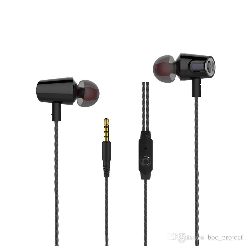 NOUVEAU! Langsdom R36 Super Bass Ecouteur Musique Control Hi-Fi Métal écouteur avec Mic pour iphone Xiaomi téléphones mobiles /