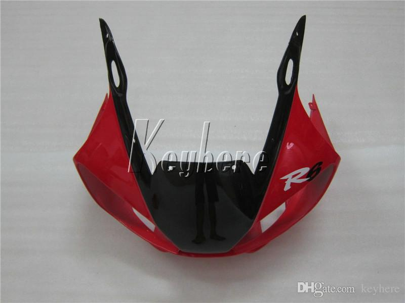 Aftermarket body parts fairing kit for Yamaha YZR R6 98 99 00 01 02 red black fairings set YZFR6 1998-2002 HT10
