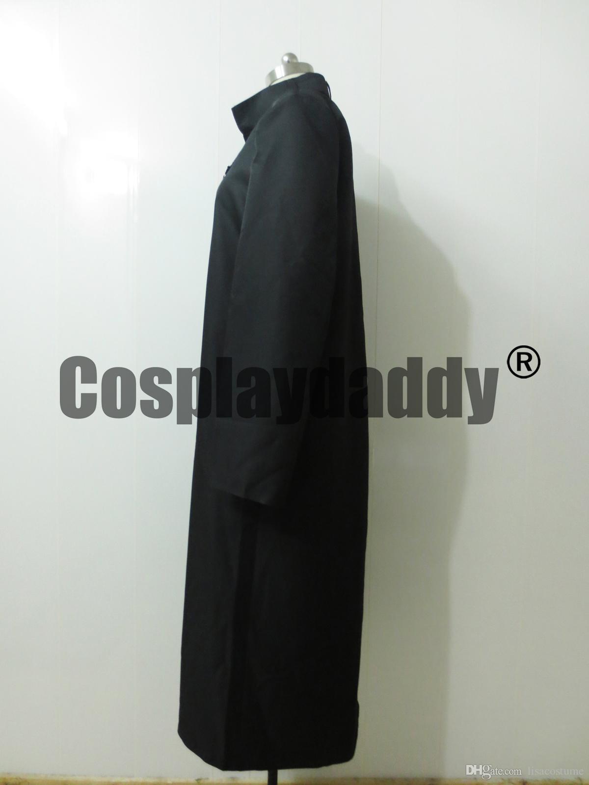 Darker Than Black Hei Long Coat Cosplay Costume