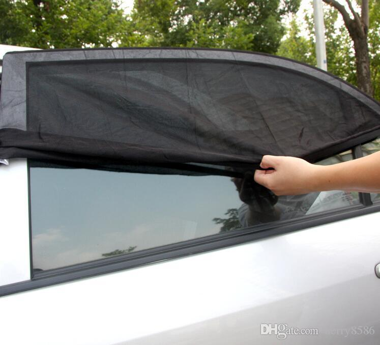 New Hot Car Side Window Sun Shades Sun Protection Nylon Baby Sunshade  EG64