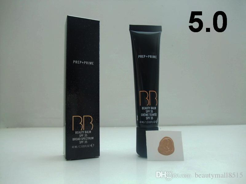 Горячая оптовая торговля Cosmetics Prep Prime BB Beauty Balm Balm Primer SPF35 Cream Foundation 40ML Buffed, Face Creme Concealer Gel бесплатно DHL