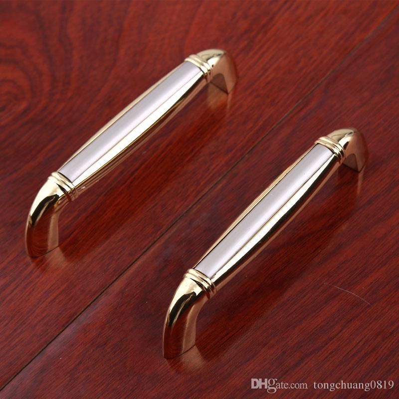 64mm 96MM modern fashion furniture handle silver gold nickel drawer tv cabinet kitchen cabinet cupboard pulls