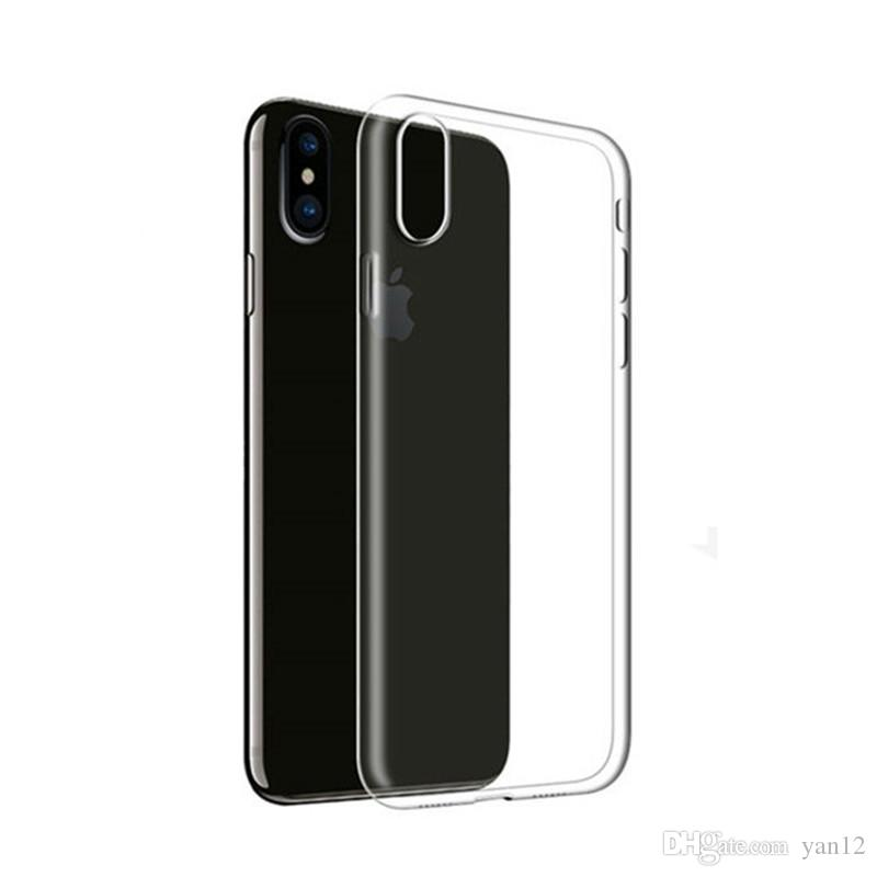 for iphone x 8 7 plus tpu case clear tpu 0 5mm ultra thin samsungfor iphone x 8 7 plus tpu case clear tpu 0 5mm ultra thin samsung galaxy s8 plus note 8 back soft cover customize cell phone case fashion cell phone cases