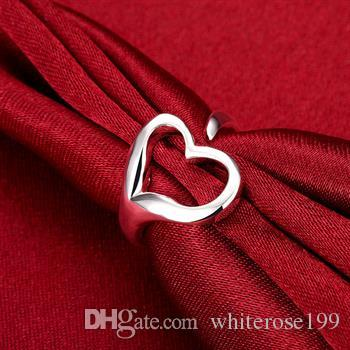 Wholesale - Retail lowest price Christmas gift, new 925 silver fashion Ring R13