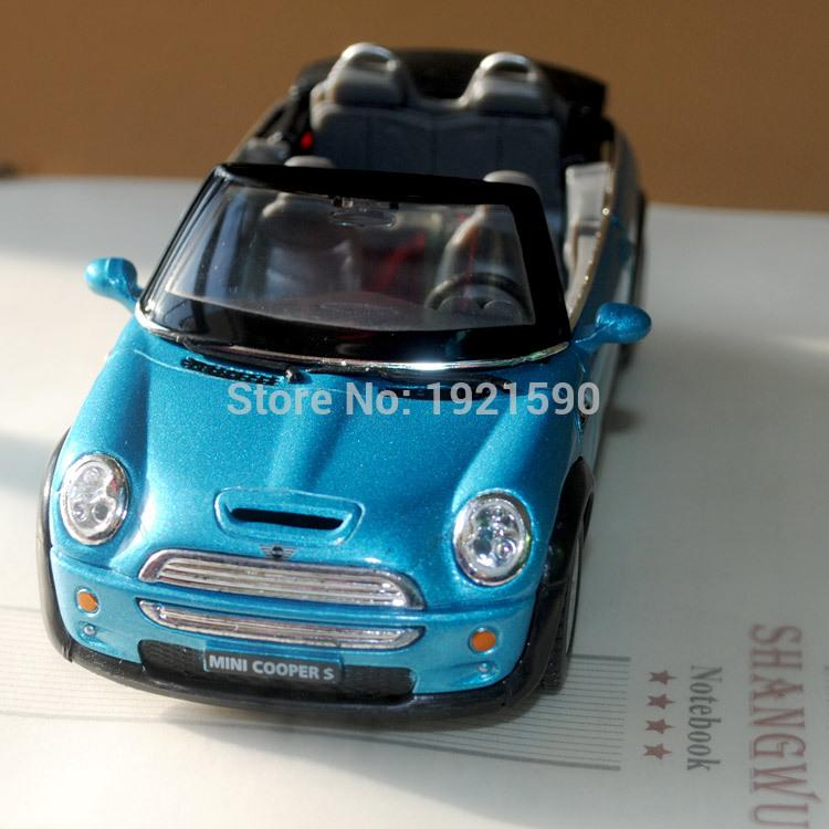 2017 brand new kingsmart 128 scale germany mini cooper s convertible diecast metal pull back car model toy for giftcollectionkids from love6love