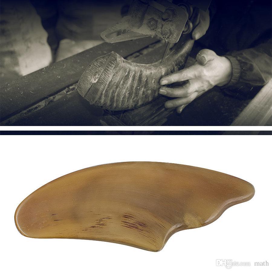 Livraison Gratuite Nouvelle Arrivée De Haute Qualité Chinois Naturel OX Corne Planche De Massage planche à gratter SPA Outil De Massage