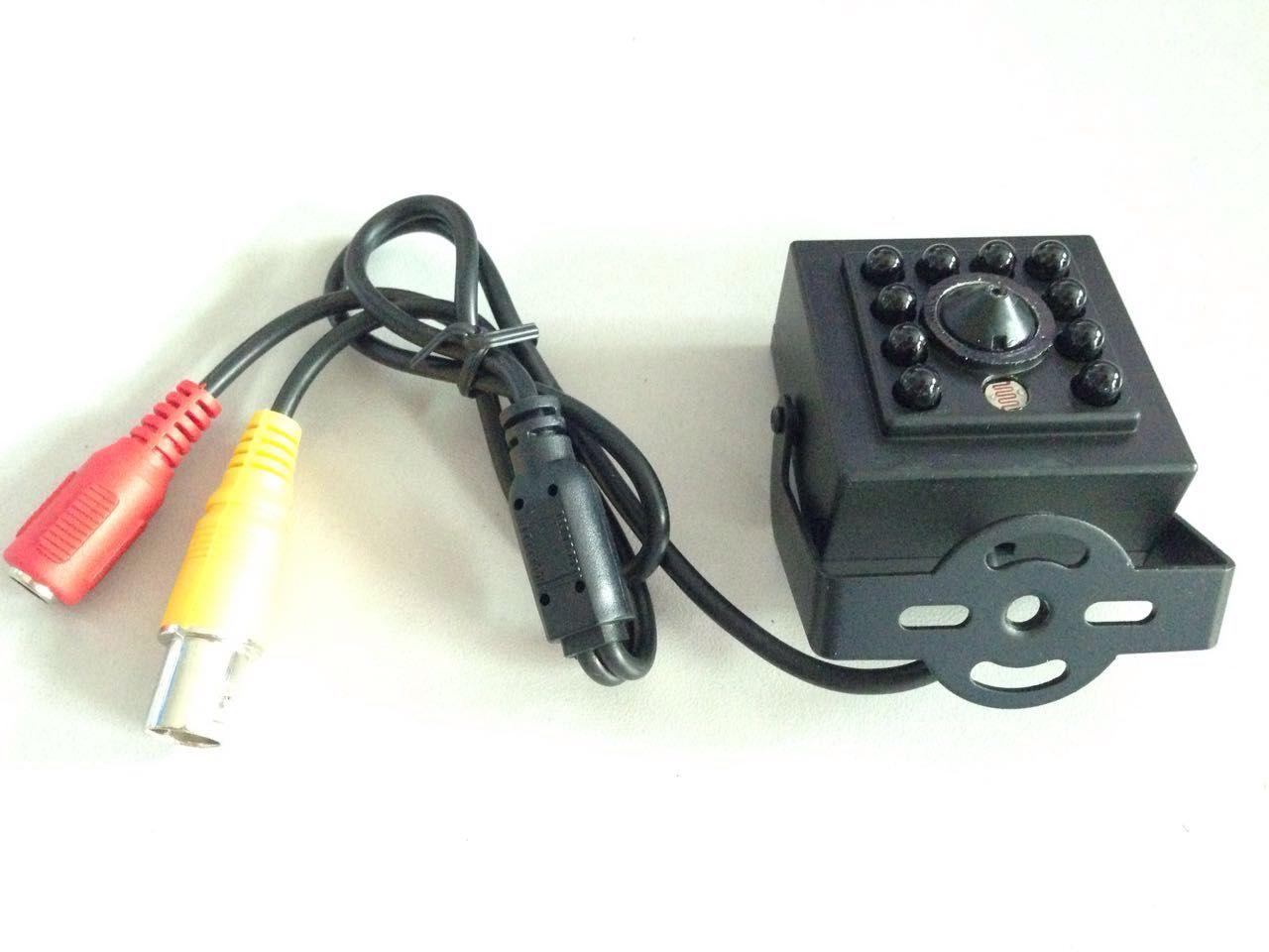 700TVL diminuta cámara ir 940nm, 1/3 '' cCD de sony, luz LED invisible de IR, lente de agujero de alfiler de 3.7mm