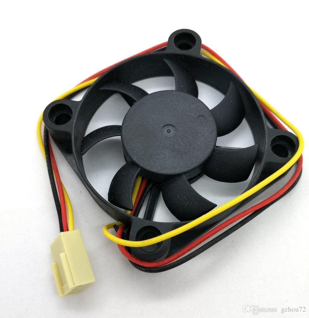 Novo original vette A5010H12D 12V 0.14A 50 * 50 * 10mm 3 linhas ventilador de refrigeração computador