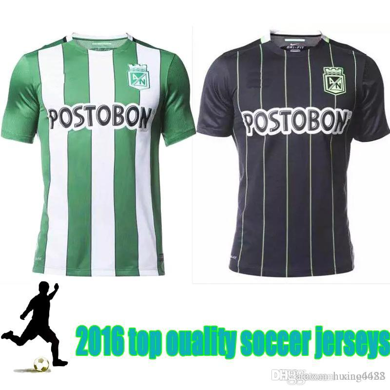779da939d06 2019 New 2016 Colombia AtlEtico Nacional Jerseys Home AWAY AtlEtico  Nacional Shirts Thai Quality Shirt 16 17 From Huang6688