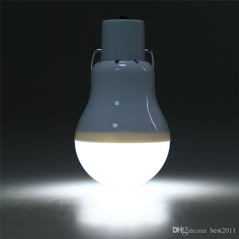 Porto Riko Solar Free Gemi Powered LED Ampul Lamba 5V 150LM Taşınabilir Güneş Enerjisi Lambası Enerjisi Güneş Kamp Işık