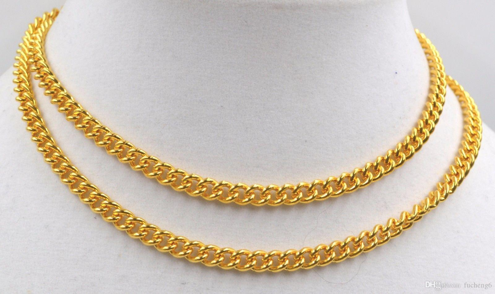 Wholesale 22k Gold Yellow 916 Solid Necklace 32 Inch Long Mala Not ...