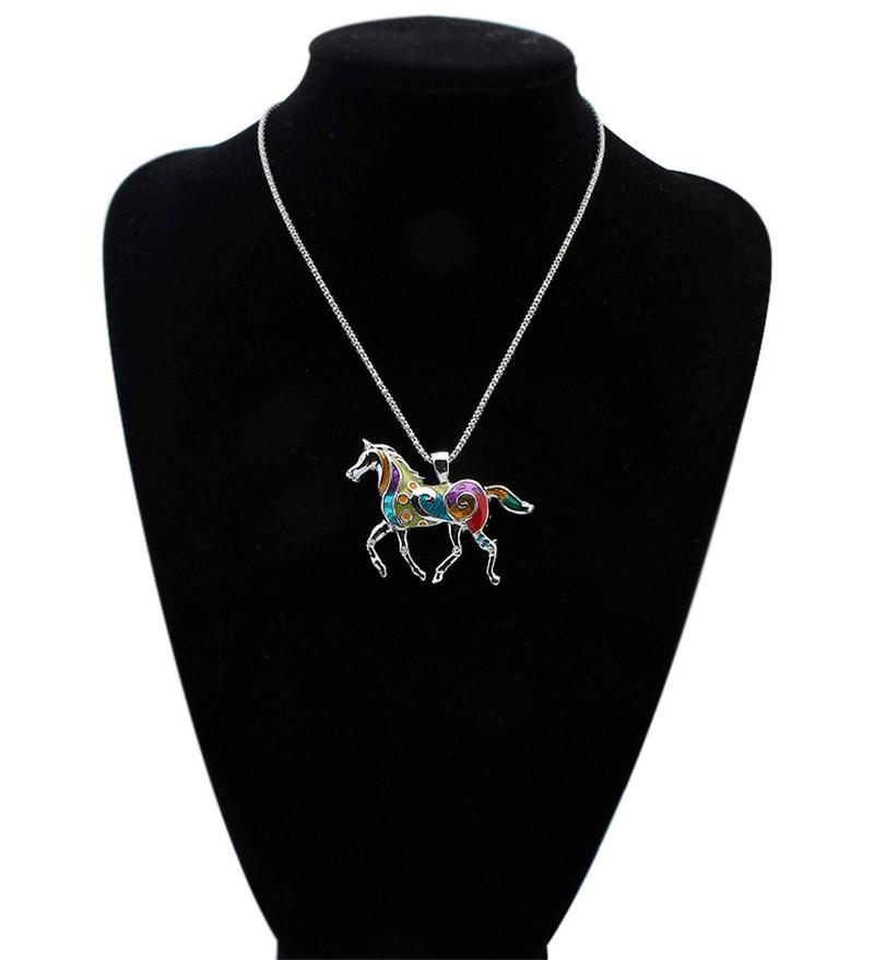 Emaye At Fil Yengeç denizyıldızı Kolye Küpe Takı Setleri Kadınlar için Kolye Gümüş kaplama Emaye Takı Hediye Damla Nakliye