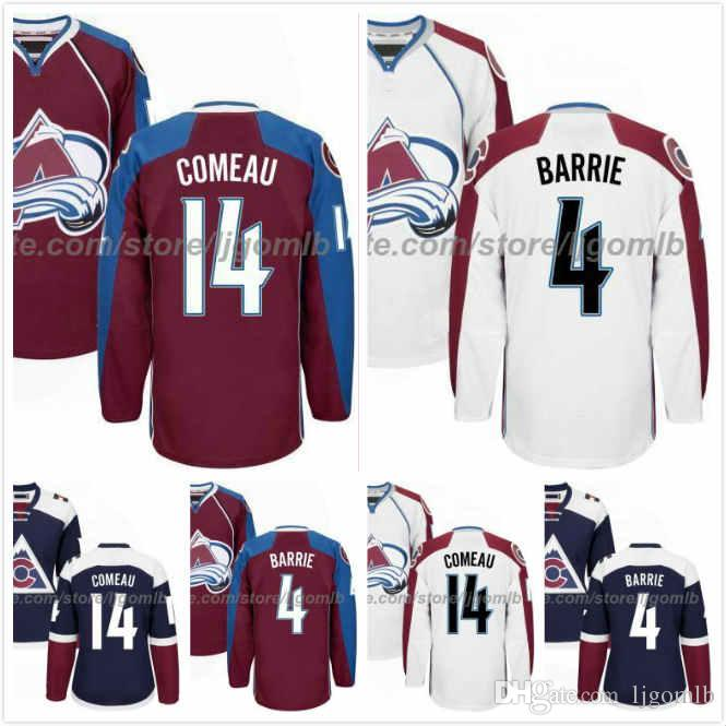 2019 Blake Comeau Jersey 14 Tyson Barrie Jersey 4 Nail Yakupov 64 Tyson Jost  17 Andrei Mironov 94 Mens Ice Hockey Jerseys Colorado Avalanche S 3X From  ... 7583c3376