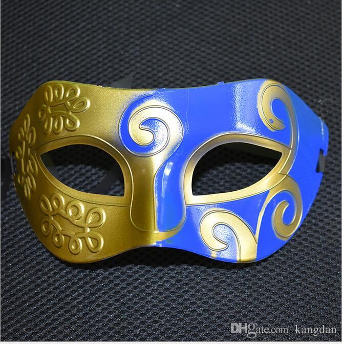 Máscara de fiesta con máscara de purpurina dorada Venetian Unisex Sparkle Masquerade Máscara veneciana Máscaras de carnaval Masquerade Halloween